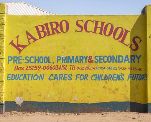 kabiro schools sign